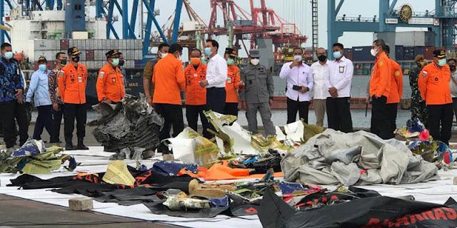 Aziz Syamsuddin Minta Sriwijaya Air Ringankan Beban Keluarga Jatuhnya Pesawat SJ-182