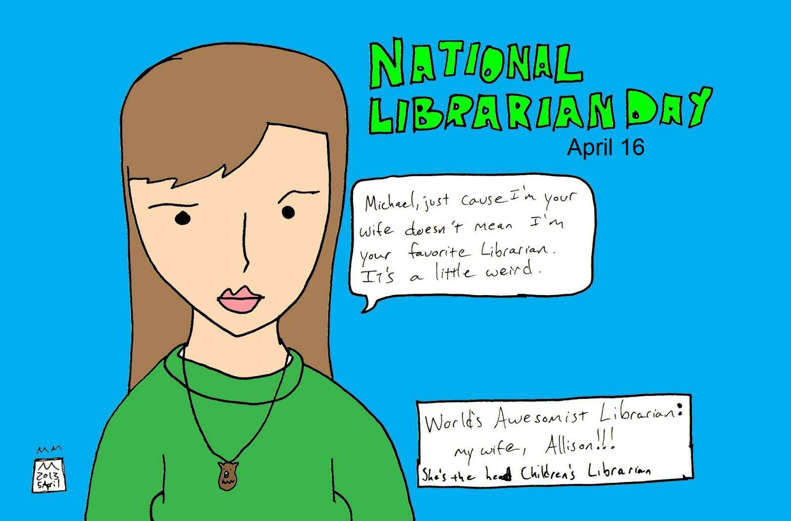 National Librarian Day Wishes Pics