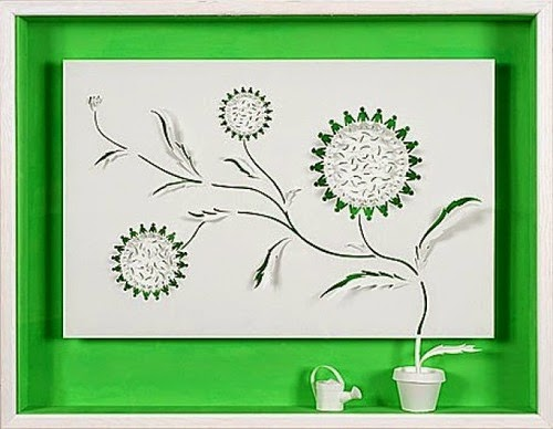 Paper Cutting Art Made By Daniel Mar Creative Art And Craft Ideas