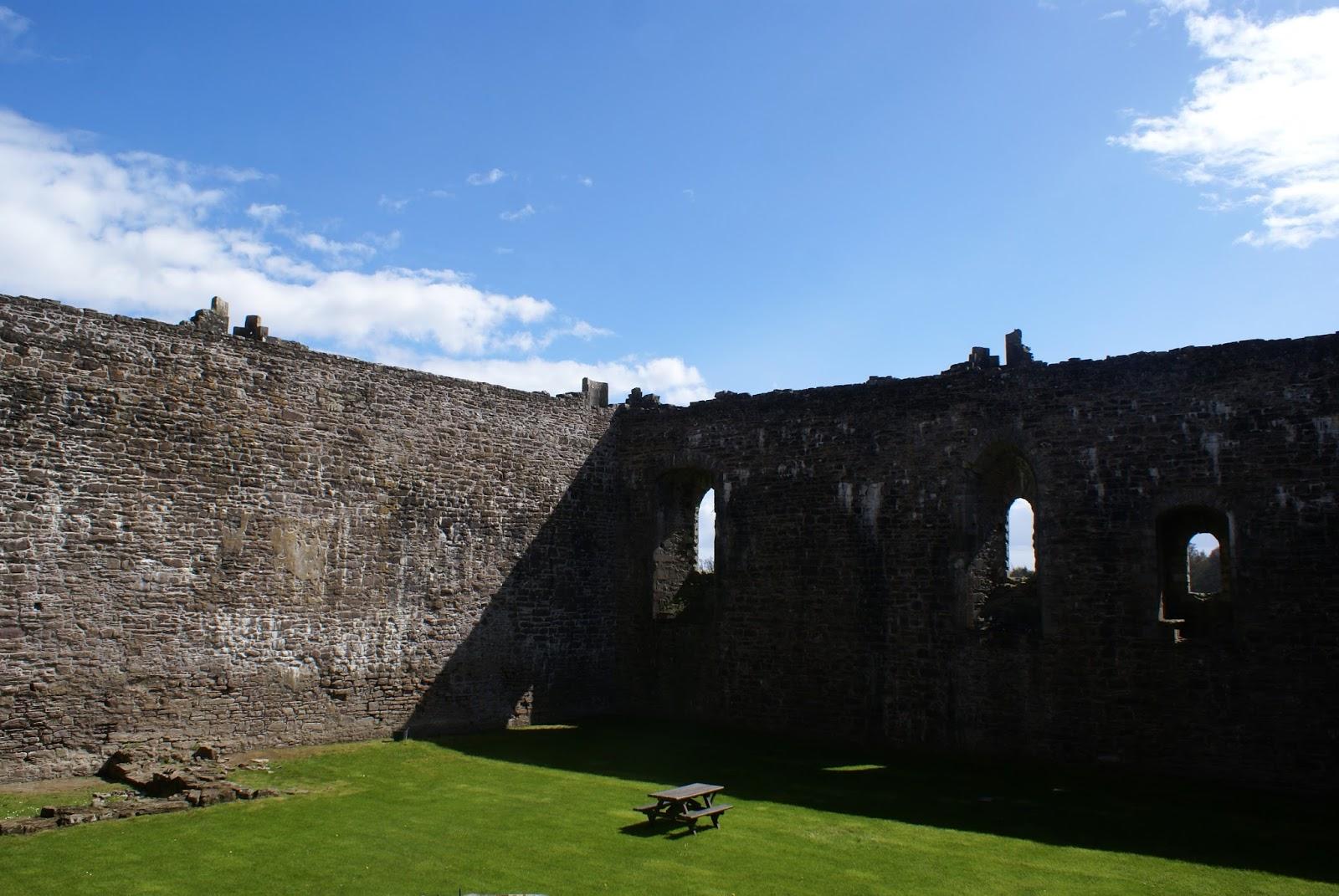 doune medieval castle scotland scottish uk stirlingshire