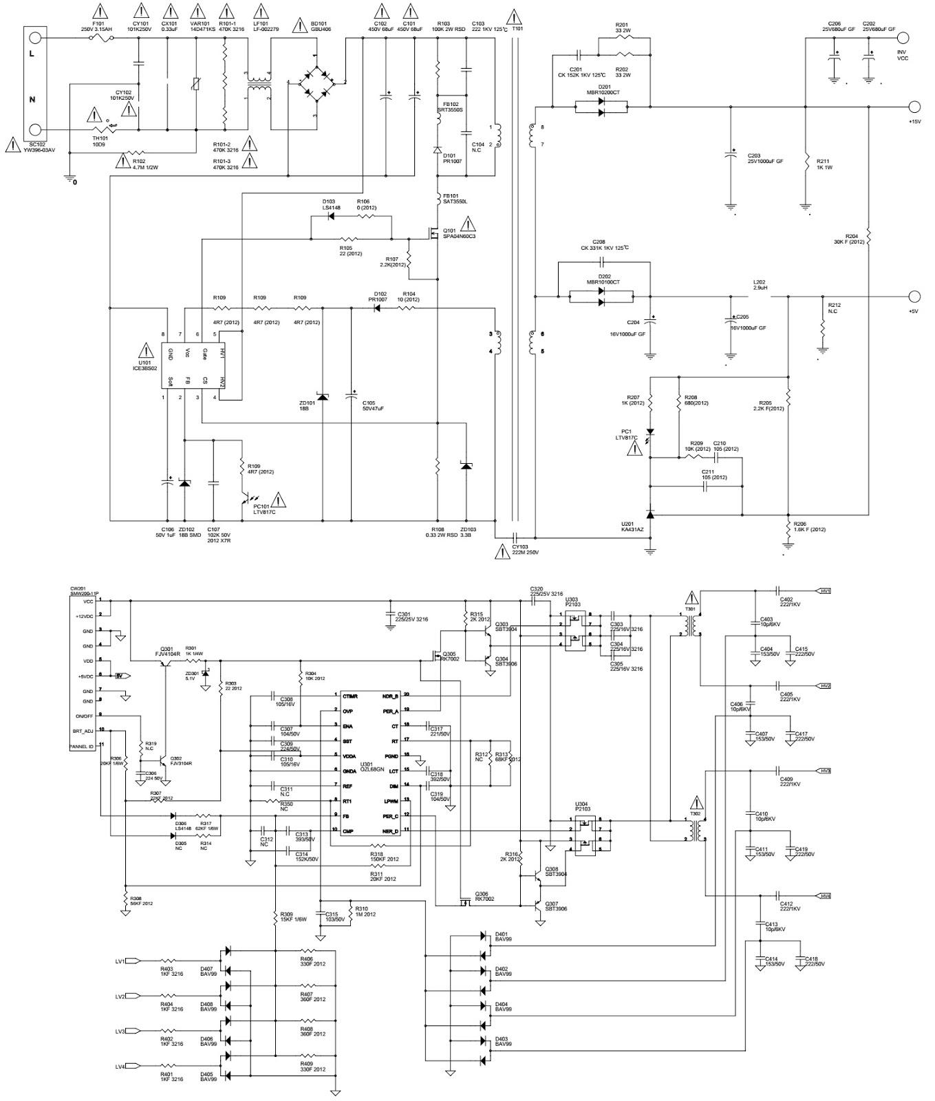 Lg Lcd Monitor Flatron M A M A Circuit Diagram