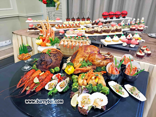 Eastern & Oriental Hotel, Penang Christmas New Year Buffet Promotion Penang Blogger Influencer