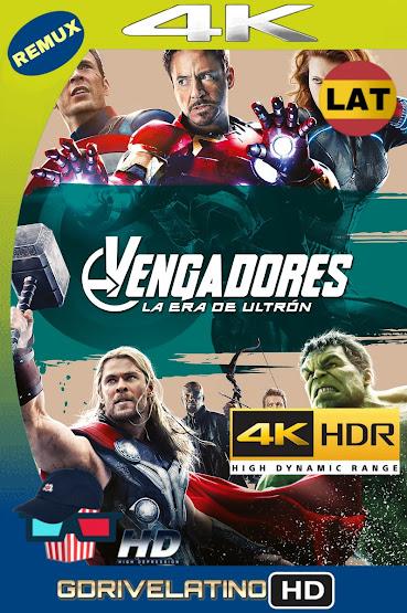Avengers: Era de Ultrón (2015) BDRemux 4K HDR Latino-Ingles MKV
