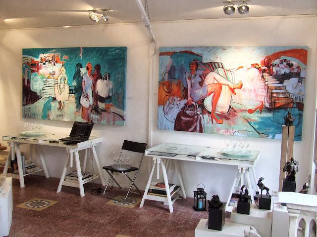 Galerie Mocca in Harderwijk op de Vischmarkt