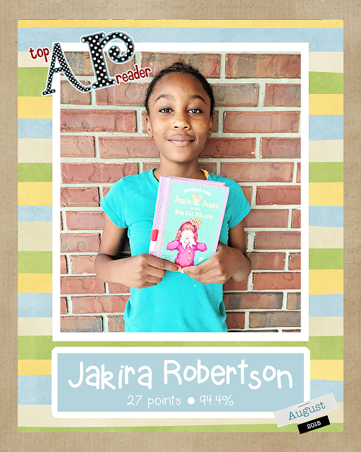 FLE Book Nook: August Top Reader