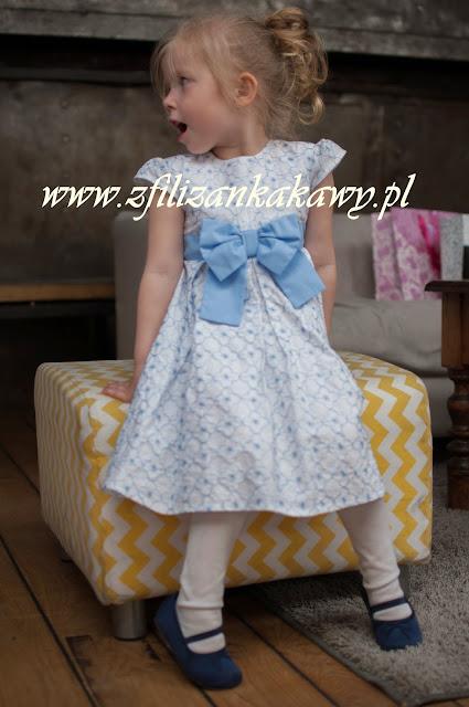 sukienka dla dziewczynki na komunię