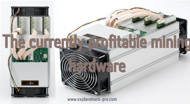 The currently profitable mining hardware