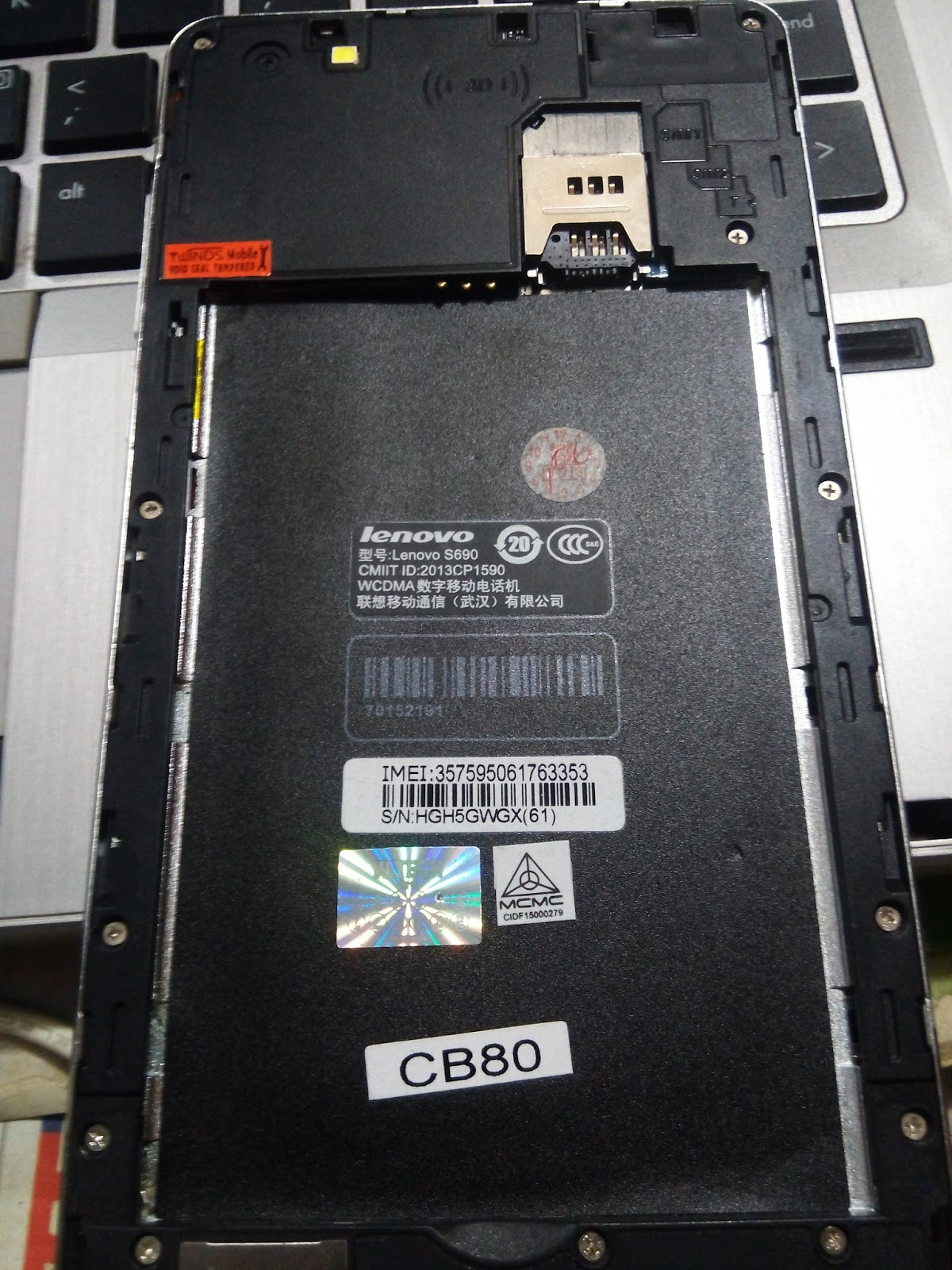 Jobayar Telecom Lenovo A6020a46 Flash File Dead Boot Repair