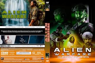 CARATULAALIEN WARFARE - GUERRA DE ALIEN [ COVER DVD ]