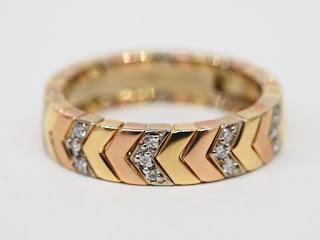 カルティエ ヴェロニクダイヤモンドリングをお買い取り致しました