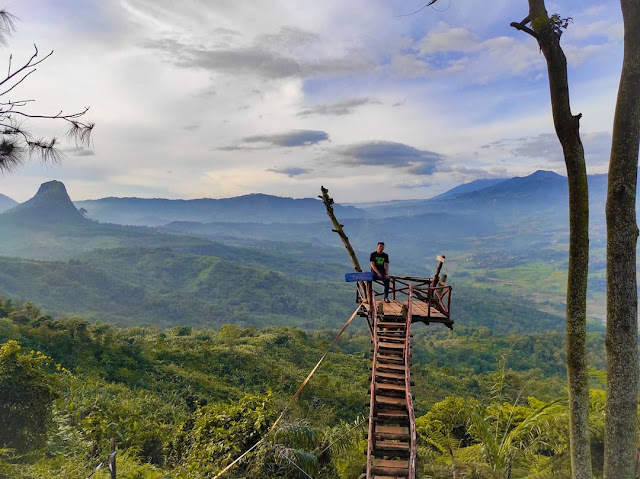 Jajar Gunung Kinayungan Sukamakmur Bogor