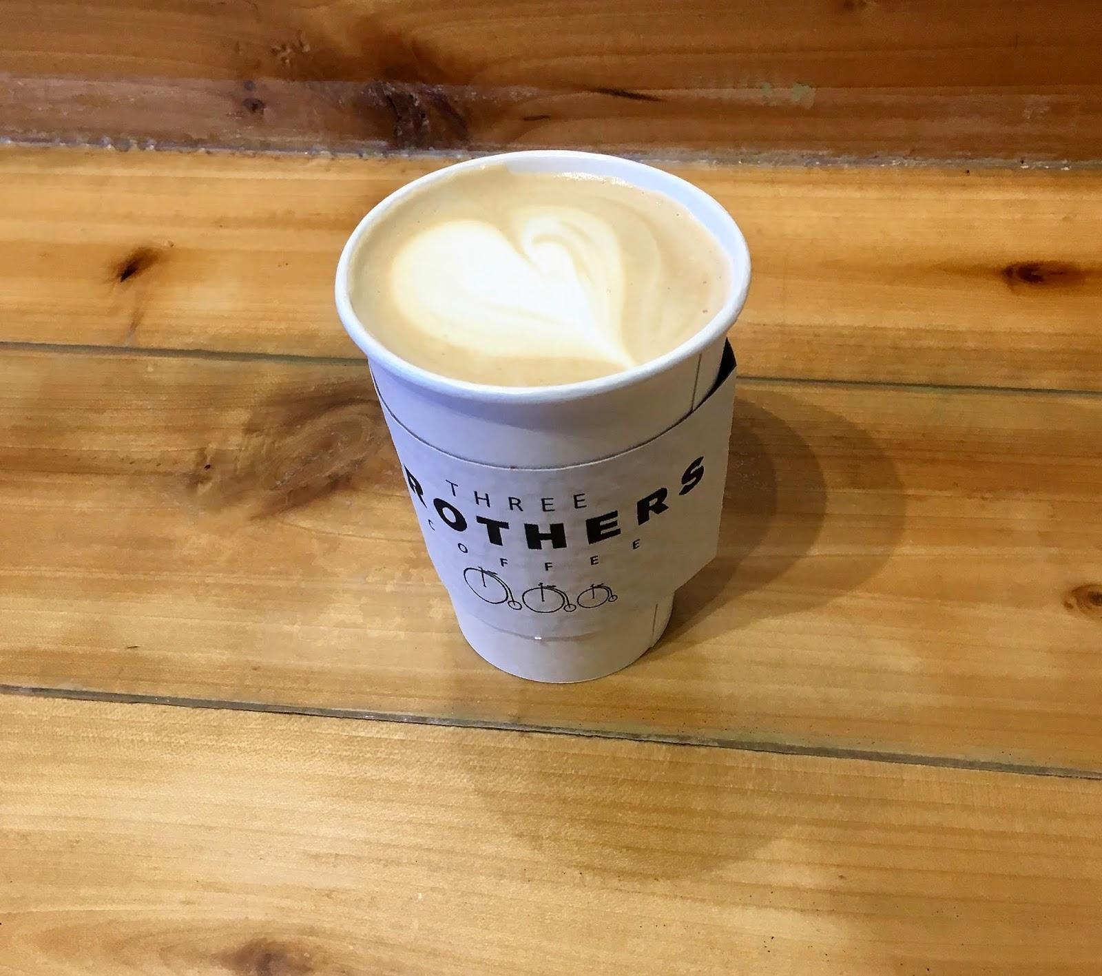 Three Brothers  Coffee | Honey Latte from Three Brothers Coffee | Latte Art | Coffee Shops in Nashville | Best Coffee Stops in Nashville | A Memory of Us