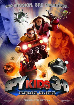 Spy Kids 3: Game Over 2003 Full Movie Download Hindi Dubbed BRRip 720p