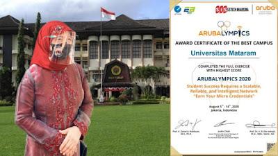 WR III Universitas Mataram,  Prof. Dr. Ir. Enny Yuliani, M. Si.