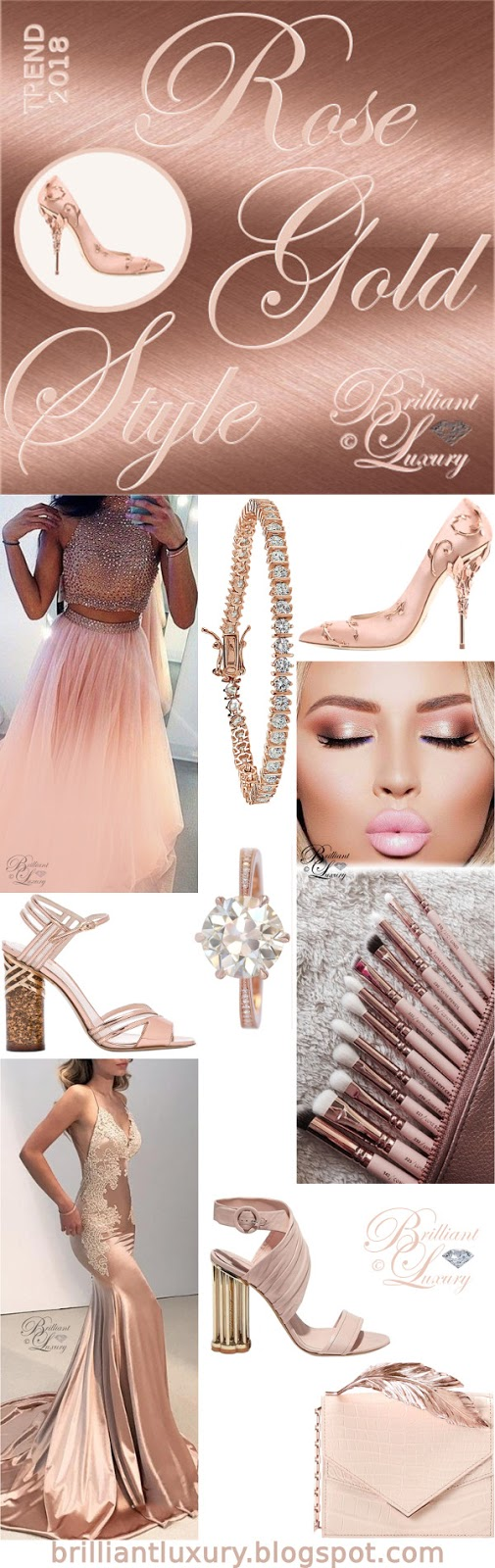 Brilliant Luxury ♦ Trend 2018 ~ rose gold style
