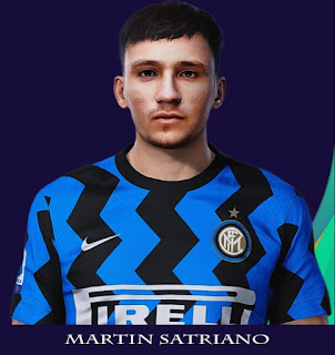 PES 2021 Faces Martin Satriano by Rachmad ABs