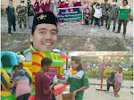 Muhammad Shohibul Ahsan: Peduli COVID-19, GP Ansor dan Fatayat NU Pelalawan Berbagi Peralatan Prokes