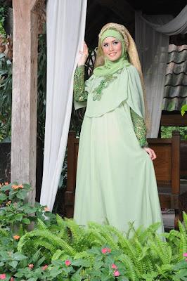 Gaun Pengantin Muslimah 2016