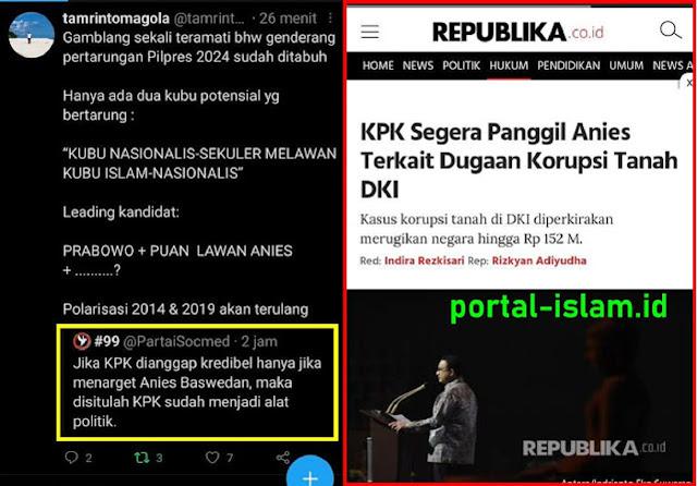 ENG ING ENG... KPK Bakal Periksa Anies Baswedan? Guru Besar UI: Genderang Pertarungan Pilpres 2024 Sudah Ditabuh