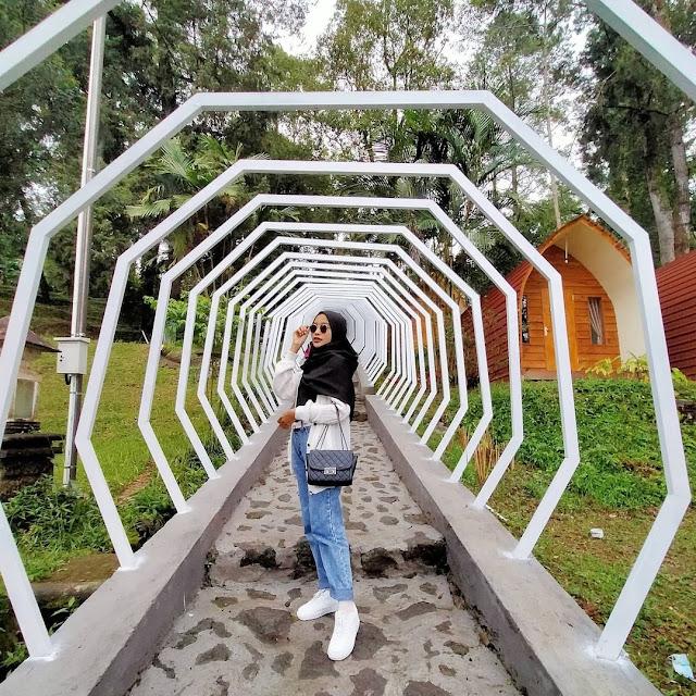 Spot Foto Instagramable di Tawangmangu Wonder Park