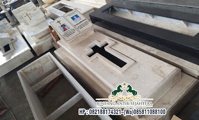Makam Katolik Marmer Magelang, Model Makam Nisan Buku, Makam Kuburan Katolik