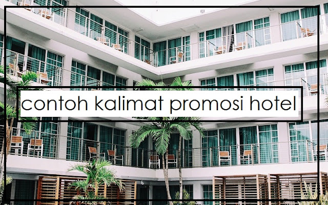 promosi hotel
