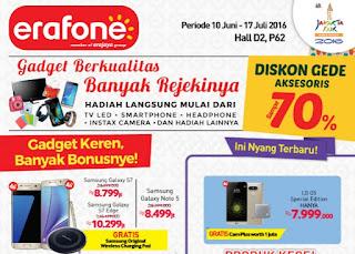 Erafone Promosi Samsung Galaxy di Jakarta Fair 2016