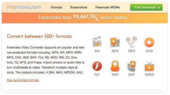 تحميل برنامج مجاني لتحويل صيغ الفيديو