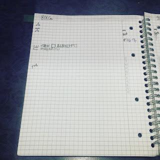 organizacja i planowanie, głagolica, blog, bujo, przemyślenia, doświadczenia