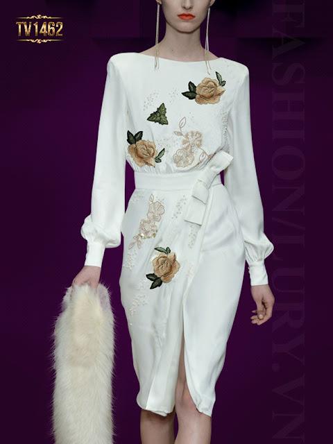 Thời trang váy đầm trung niên đang là xu hướng hót cho mùa hè năm nay