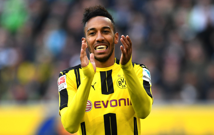 Arsenal keen on Pierre-Emerick Aubameyang