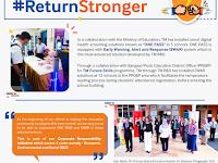 TM's smart digital health screening solutions installed in schools