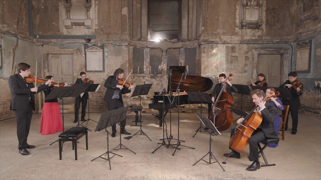 Celebrating Piazzolla: London Concertante (taken from live-stream)