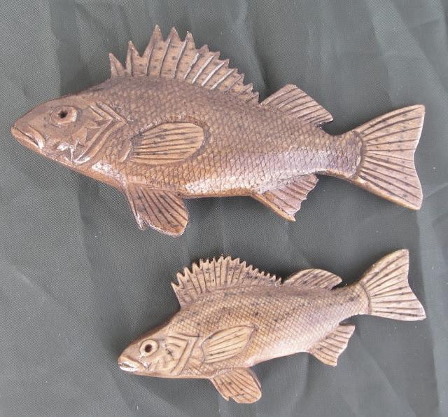 деревянные рыбы России - ёрш