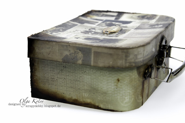 @olgakolov #alteredart @ScrapBerrys #koffer #scrapbooking #photoarchive