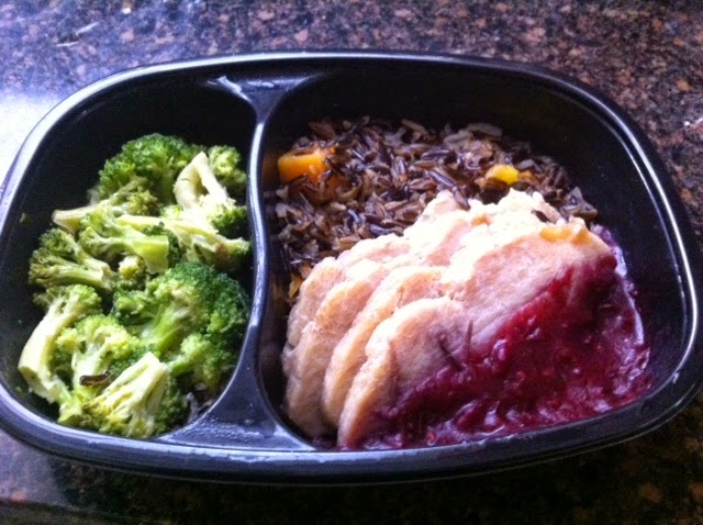 Roasted-turkey-breast-with-cranberry=chutney-and-wild-rice
