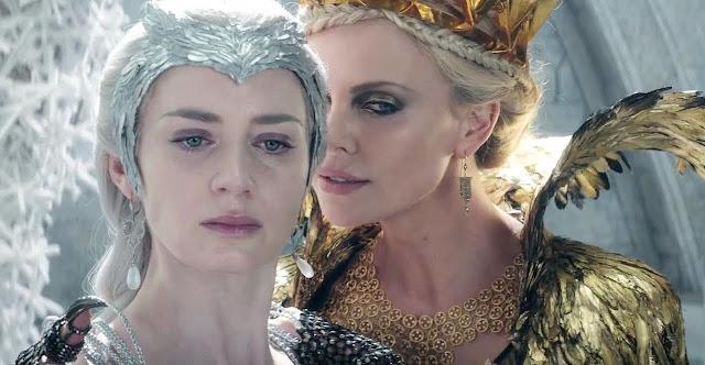 Assista ao segundo trailer de O Caçador e a Rainha de Gelo, com Chris Hemsworth, Emily Blunt e Charlize Theron