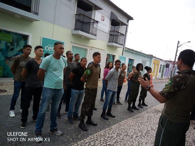 A equipe de Rádio e Jornalismo da Porto Brasil FM – Prestigiou a Aula Inaugural do  Curso Preparatório Brasil .