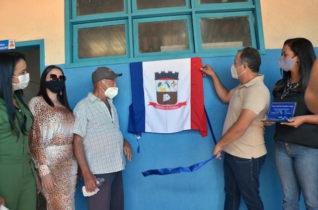 Prefeito Ricardo Maia entrega a requalificação de uma praça e uma creche com sede própria no Distrito de Vila Rodrigues