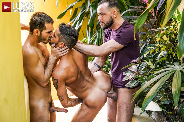 #LucasEntertainment  - SIR PETER AND RICKY HARD DOUBLE TEAM VALENTIN AMOUR