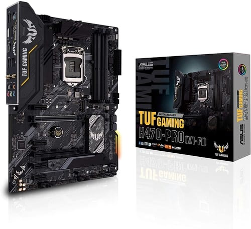 Review ASUS TUF Gaming H470-PRO WiFi 6 Motherboard