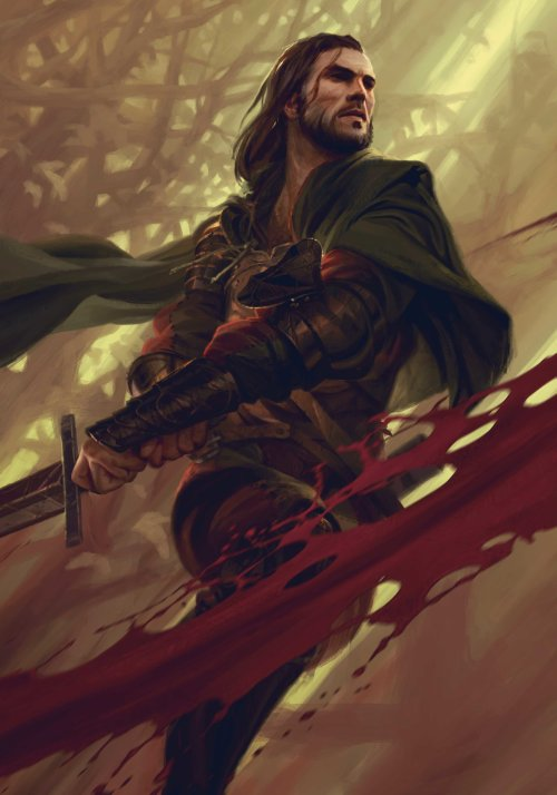 Lorenzo Mastroianni artstation ilustrações fantasia games gwent the witcher cards artes