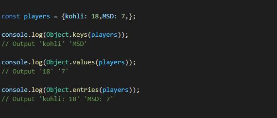 6. Object Iterator,