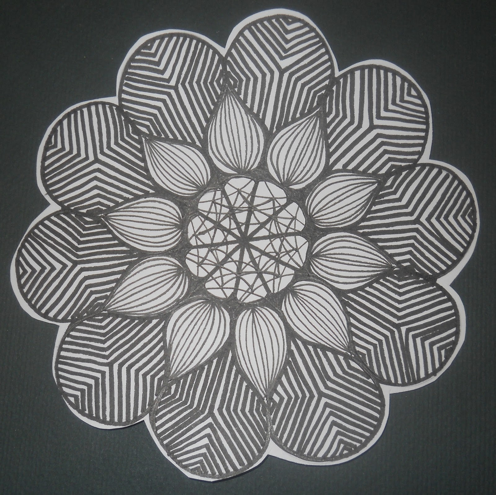 Black And White Scratch Art Ideas Pictures to Pin on ...