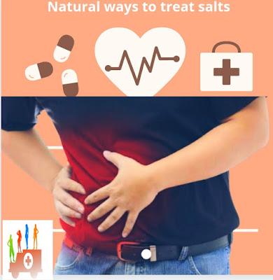Natural ways to treat salts
