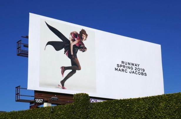 Marc Jacobs Runway Spring 2019 billboard