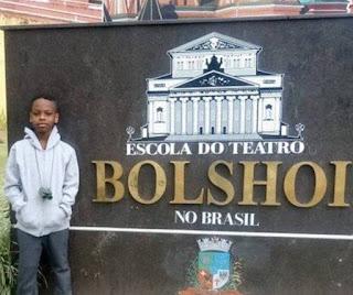 De família humilde, o menino é um dos dois baianos no Bolshoi