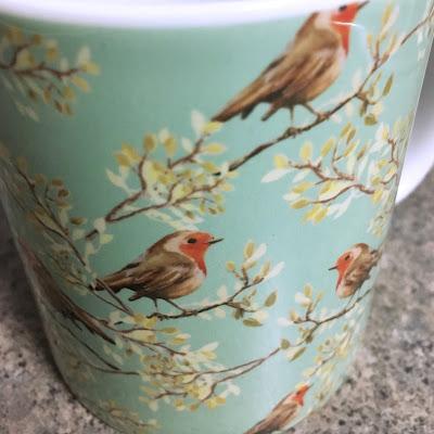 Vintage Redbeast Robin Pattern Mug Society6