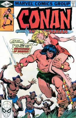 Conan the barbarian #108