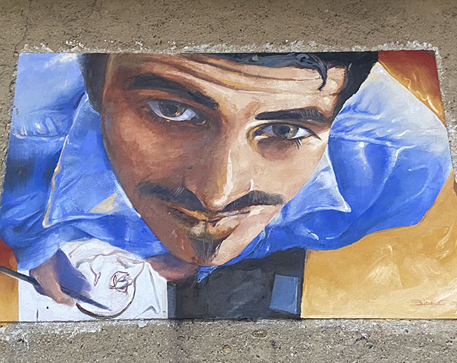 Murales a Maglione